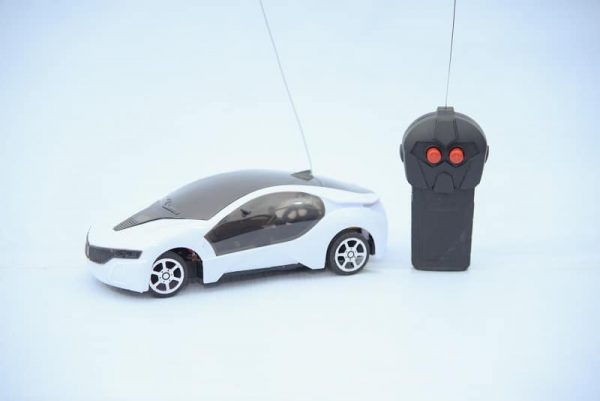 Mini 3D Remote Car