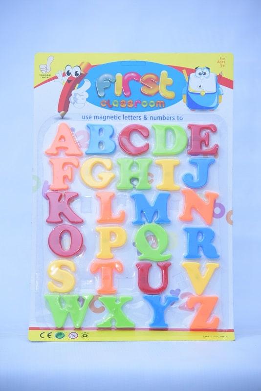 Alphabet with Magnet