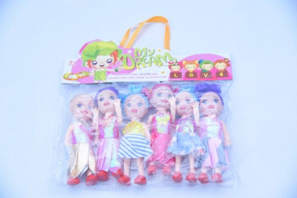 Mini Doll (6pcs)