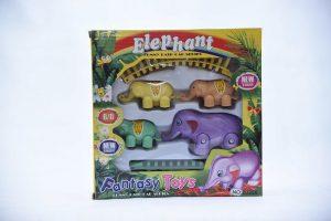 Elephant Train Set