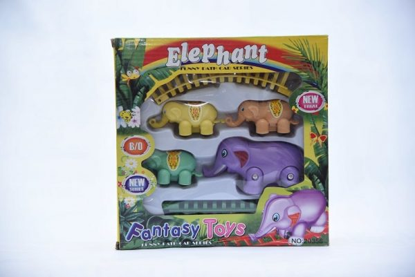 Elephant Train Set