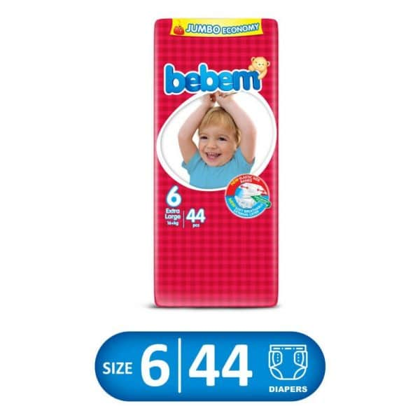 Bebem Jumbo Pack Size 6 44PCS XLARGE
