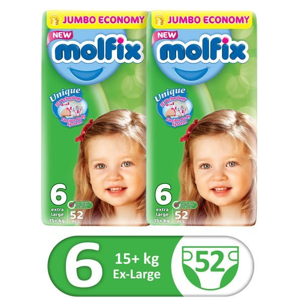 MOLFIX PACK OF 2 3D XLARGE 52PCS JUMBO SIZE 6