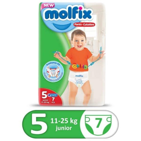 MOLFIX PANTS SMALL 7PCS JUNIOR SIZE 5