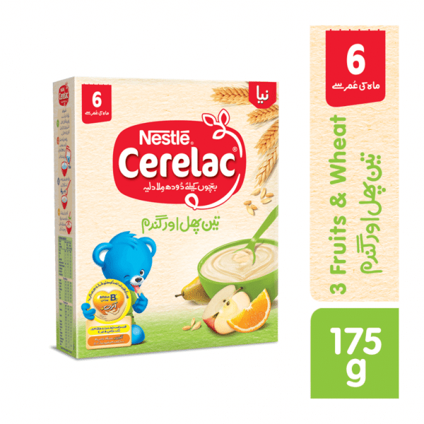 NESTLE CERELAC (3 FRUITS) 175GMS