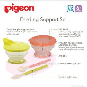 PIGEON FEEDING SUPPORT SET (a005)