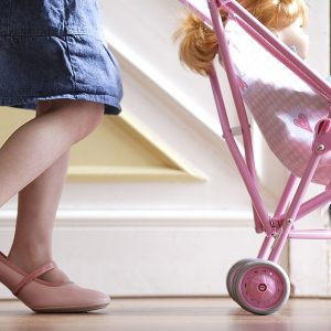 DOLL'S PRAMS AND PUSHCHAIRS